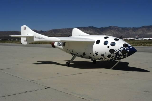 SpaceShipOne si doletěla pro odměnu