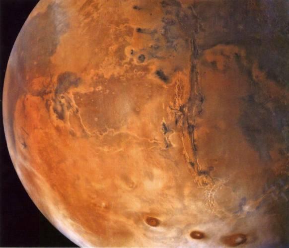 Tělíska z Marsu na Zemi