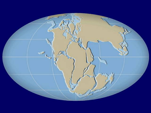 Kontinenty s námi plují