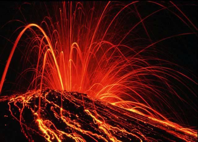 Podivná vulkanická aktivita