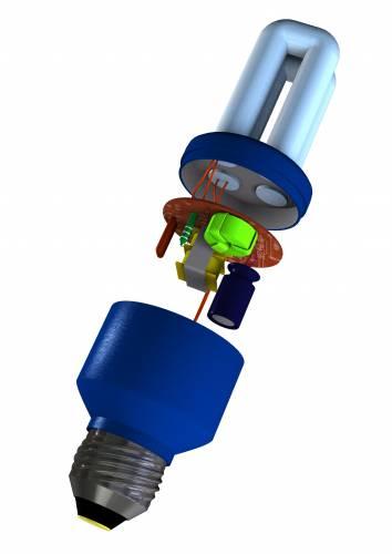 Jak pracuje kompaktní úsporná zářivka