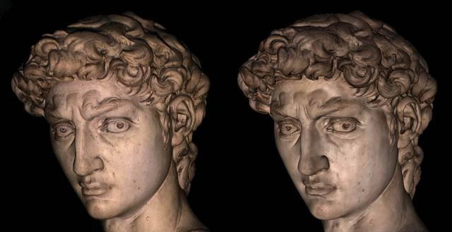 Michelangelův David má digitální dvojče