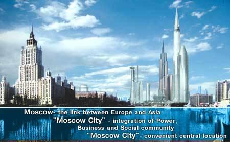 Nejvyšší mrakodrap Evropy bude v Moskvě