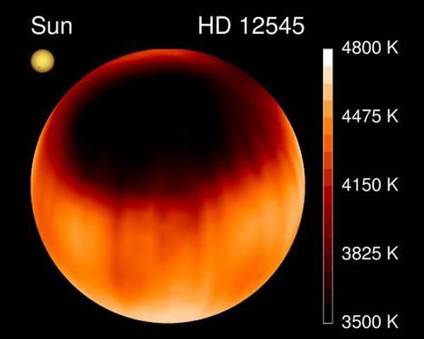 Největší sluneční skvrna Vesmíru