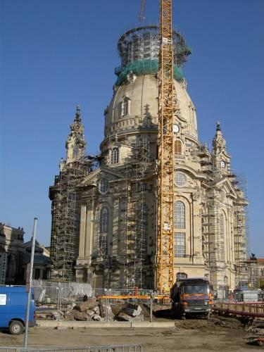 Obnova Frauenkirche: zázrak znovuzrození