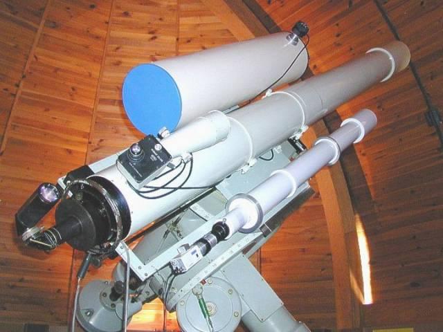 Největší dalekohledy v České republice