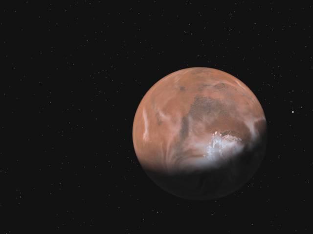 Mars byl kdysi mokrou planetou!