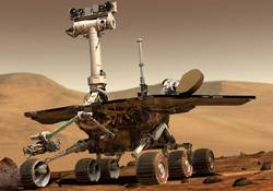 Neznámý objekt na Marsu