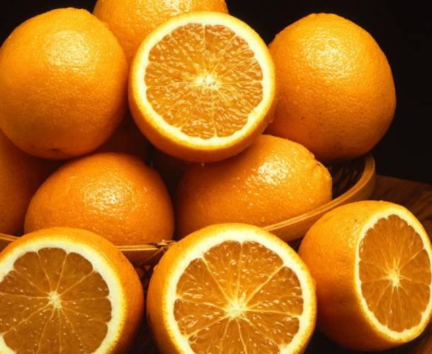 Plast ze slupky pomeranče