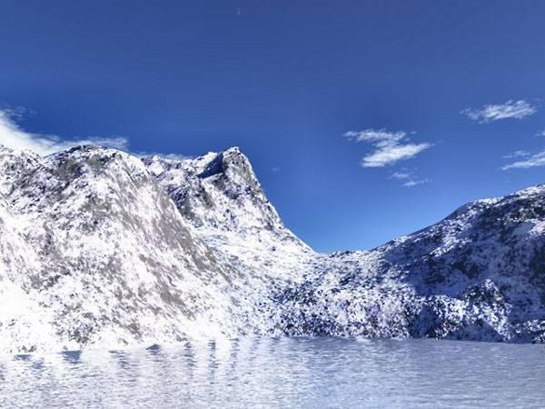 Vědci už znají původ věčného ledu!