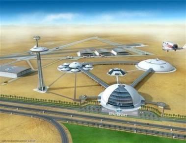 Základna pro lety do vesmíru ve Spojených arabských emirátech
