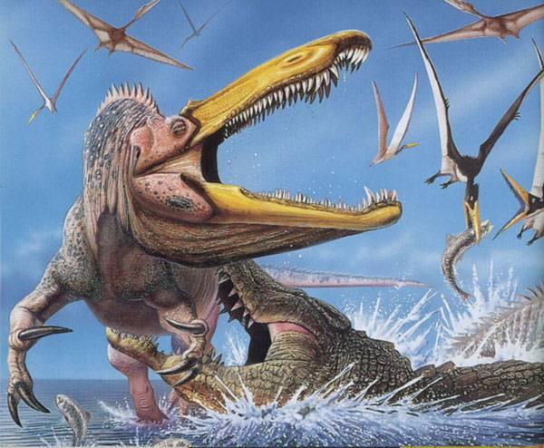Lovili krokodýli dinosaury?