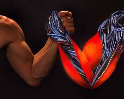 Umělé svaly s kyslíkovým pohonem