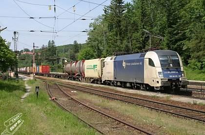 Nový rychlostní rekord německé lokomotivy