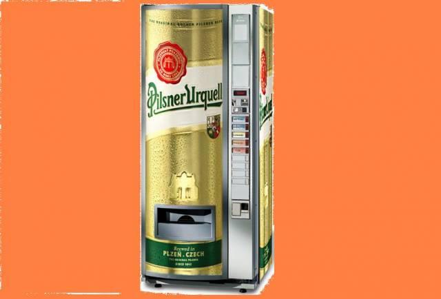Kdo dostane neodolatelnou chuť na pivo, může vyzkoušet nový typ ve světě ojedinělého prodejního automatu.