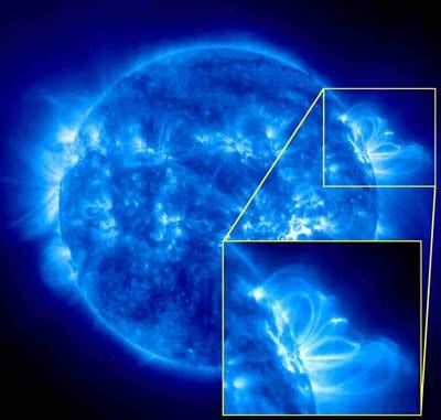 Objev nepolapitelných vln  Astronauti budou lépe chráněni Tým vědců z Národního centra USA pro atmosférický výzkum poprvé objevil dosud nepolapitelné vlny ve sluneční koroně, nazvané jako alfvenové vlny.