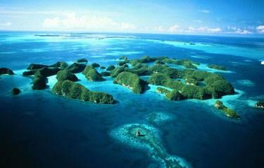 Jihoafričtí vědci objevili na mikronéském ostrově Palau jeskyni s 25 kostrami metr vysokých lidí.