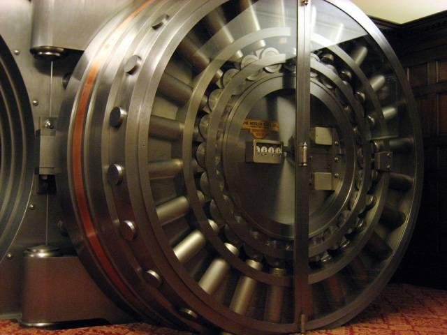 Jsme v budově helsinského Muzea bank. Pozoruhodnou expozici všeho, co se týká peněz a zlata a jejich bezpečnosti, včetně nejmodernější techniky, si v prvním pololetí roku 2008 prohlédlo přes 10 000 návštěvníků.
