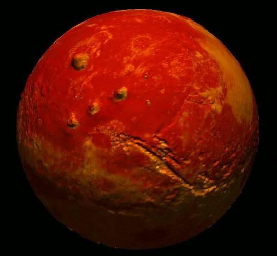 Geologové a astronomové měli dlouho za to, že rudá barva planety Mars musí mít něco do činění s vodou, která se v jeho atmosféře vyskytuje. Dánští vědci však nedávno přišli s teorií, podle níž se na typickém zbarvení Marsu nemusela voda vůbec podílet.