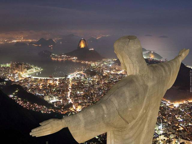 11 714 000 lidí se tísní ve druhém největším městě Brazílie, jímž je Rio de Janeiro.