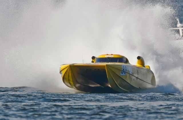 6 nejrychlejších člunů vodní Formule 1
