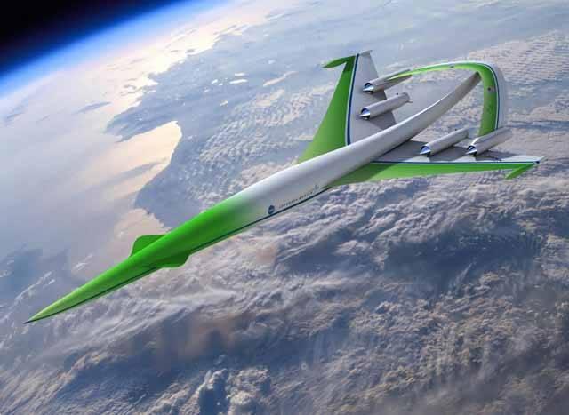 Americká letecká společnost Lockheed Martin Corporation představila první vize zcela nového konceptu nadzvukového dopravního letadla Supersonic greenn machine. Pokud zatoužíte proletět se tímto krasavcem, máte dost času na shánění letenek. K prvnímu startu na pravidelné lince má totiž dojít až kolem roku 2030.