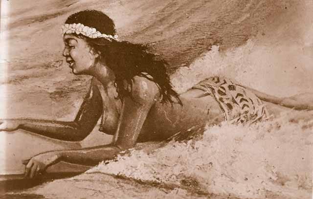 """V letních dnech se po mořských vlnách prohánějí na pestrobarevných """"prknech"""" surfaři. Převažuje mínění, že jde o moderní sport zrozený až v 60. letech 20. století. Není to pravda! Archeologové i jiní badatelé nyní přinášejí důkazy, že obyvatelé Havajských ostrovů surfují nejméně 1500 let."""