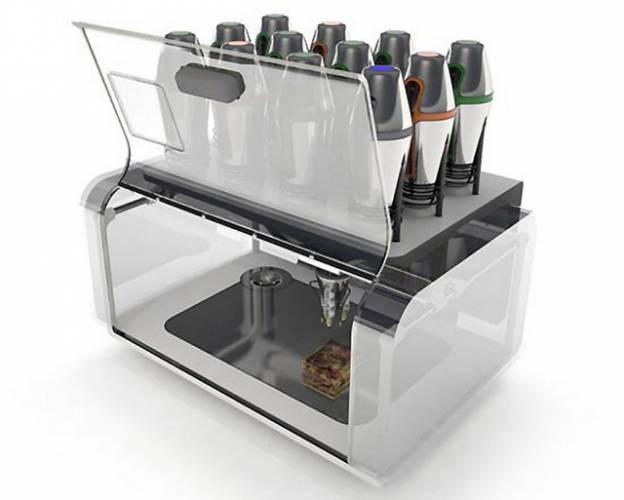 Tiskárna je běžným prvkem kancelářského vybavení či domácích pracoven. Ale možná se blíží doba, kdy se tiskárny stanou součástí inventáře i kuchyní…