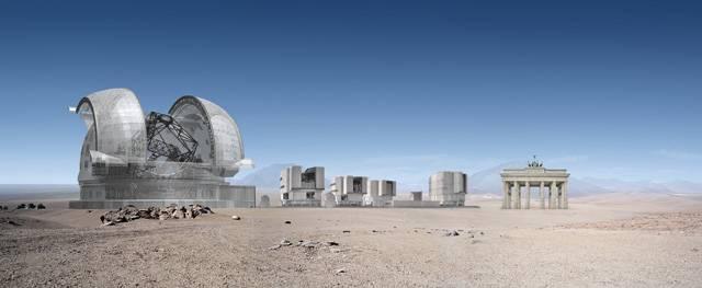 Evropská jižní observatoř (European Southern Observatory, ESO) si vybrala pro vybudování nejmodernější astronomické observatoře pro pozorování ze zemského povrchu a v oblasti viditelného světla vrchol chilské hory Paranal a umístila tam soustavu dalekohledů, jaká nemá ve světě konkurenci.
