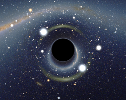 Když černá díra dostane chuť na galaxii…