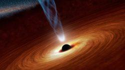 Černá díra, která se vydala na procházku
