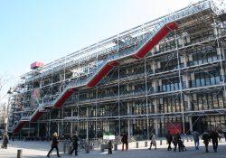 Centre Pompidou: Galerie obrácená naruby