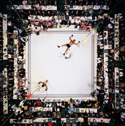 01 Muhammad Ali knocks out Cleveland Williams at the Astrodome, Houston, 1966