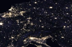 Jak vypadá noční Země?