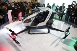 První dron s lidskou posádkou