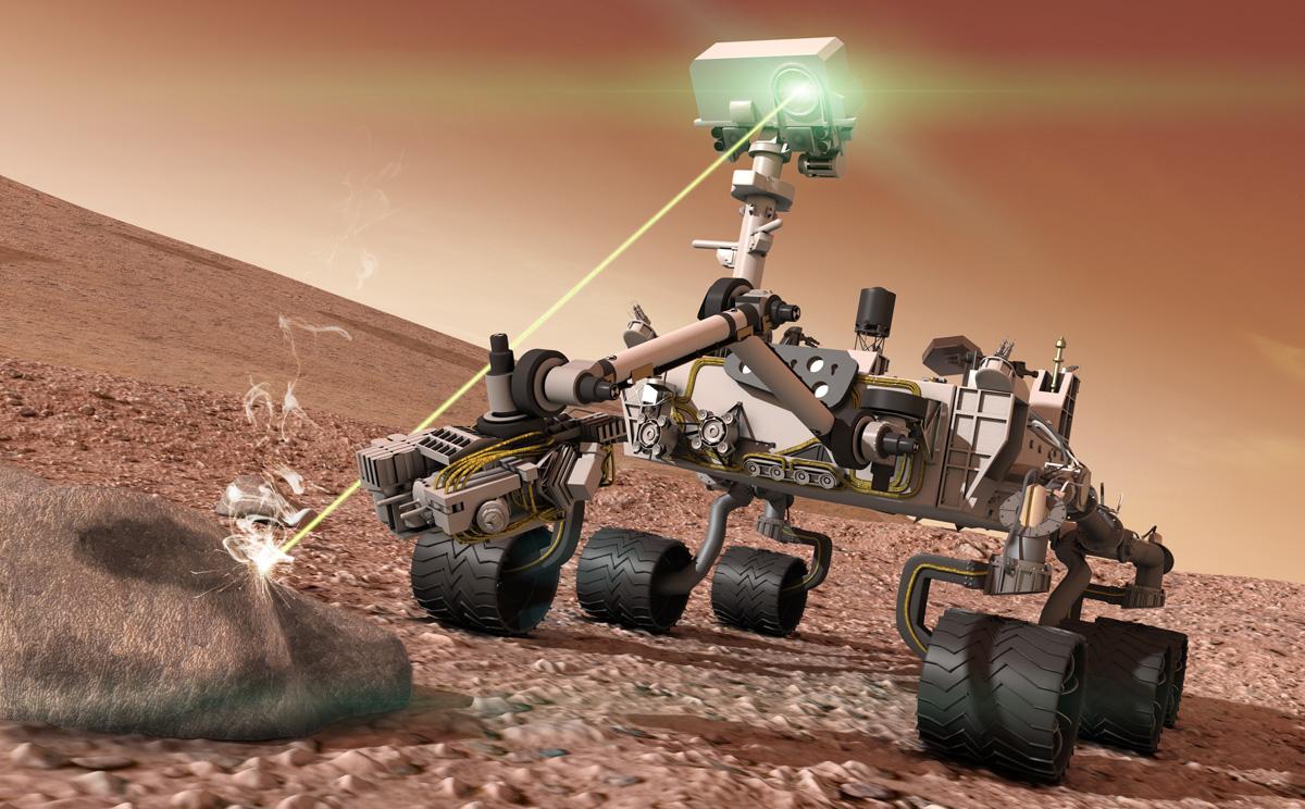 Robotické vozítko Curiosity již pátým rokem brázdí Mars. Je vybaveno laserovým modulem Chem-Cam na analýzu hornin, který napájí kondenzátory firmy AVX z Lanškrouna