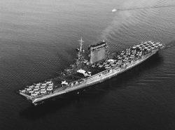 Výzkumníci objevili vrak letadlové lodi Lexington