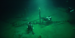 Archeologové objevili vrak z dob antiky na dně Černého moře