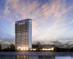 Nejvyšší dřevěná stavba světa roste v Norsku