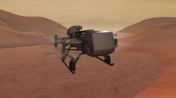 Dron, který bude zkoumat Titan