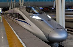 V Číně se na kolejích svezete nejrychleji na světě