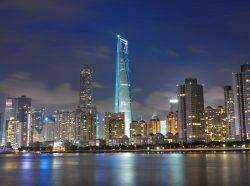 Náhled do jednoho z nejvyšších mrakodrapů pevninské Číny
