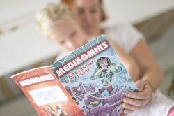 Nová série Medikomiksů vysvětluje dětem, co to jsou vážné nemoci