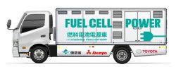 Toyota vyvinula vodíkové napájecí vozidlo