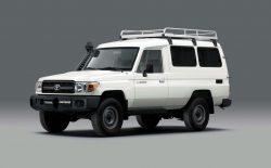 Toyota vyvinula chladírenský vůz pro přepravu vakcín. Je to Land Cruiser