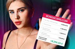 Kolik vydělávají na webcam: dívka z Prahy sdílí skutečná čísla svého příjmu na Bongacams