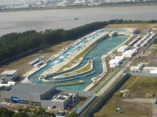 Model tokijského vodního kanálu z Fakulty stavební na Olympijském festivalu v Praze