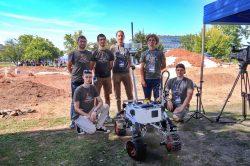 Úspěch ostravských robotiků na prestižní soutěži European Rover Challenge 2021
