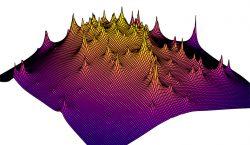 3D mapa ukazuje rozložení temné hmoty