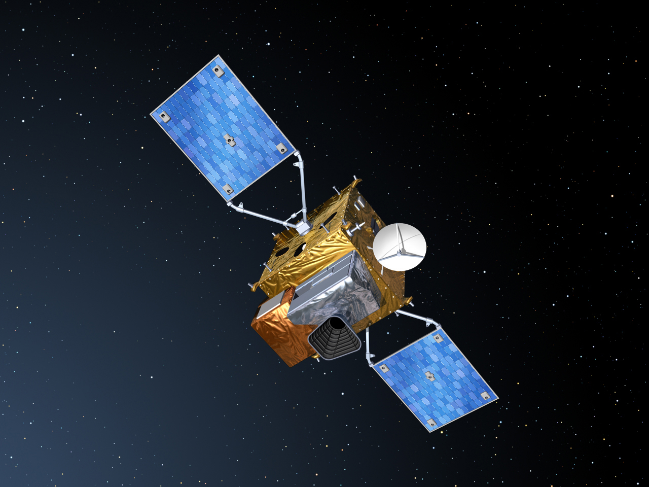 Identická dvojice spektrometrů Sentinel-4 bude do vesmíru dopravena na palubě meteorologických družic Meteosat třetí generace. I zde se české firmy podílely svými technologiemi